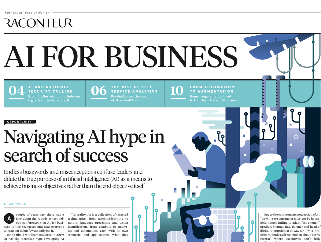 Raconteur Artificial Intelligence For Business 2019 The Times