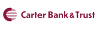 carter bank new logo